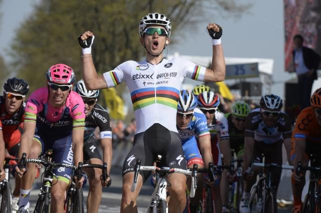 Jan Polanc v pobegu dneva, Michal Kwiatkowski veliki zmagovalec
