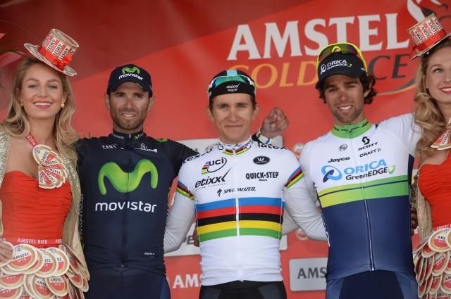 Kwiatkowski navdušen, Gilbert obžaluje, Matthews potrošil preveč na Caubergu, Valverde zadovoljen