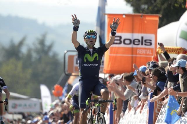 Grega Bole zmagal na dirki po Hrvaški, Valverde najboljši na