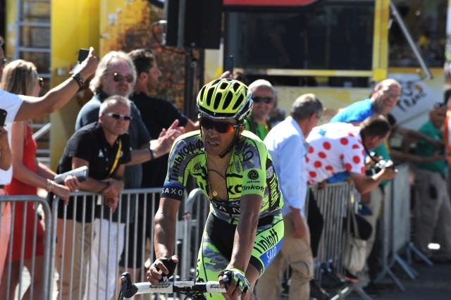 Alberto Contador: To ni bil moj dan, nisem mogel dihati