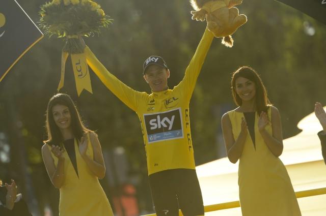 Chris Froome: Ponosen na rumeno majico