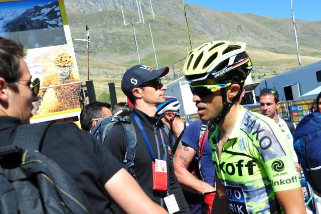 Alberto Contador o Chrisu Froomu:
