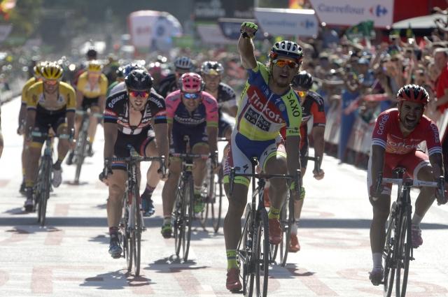Peter Sagan po več kot dveh letih do zmage na tritedenski dirki