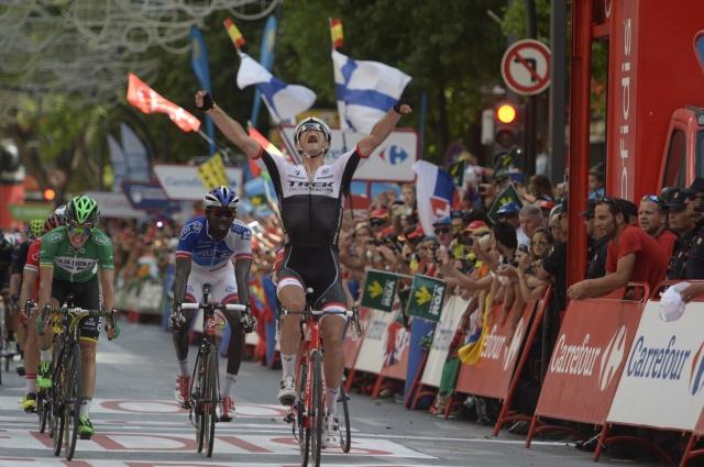 Motorist podrl Petra Sagana, zmagovalca jutri ne bo na startu