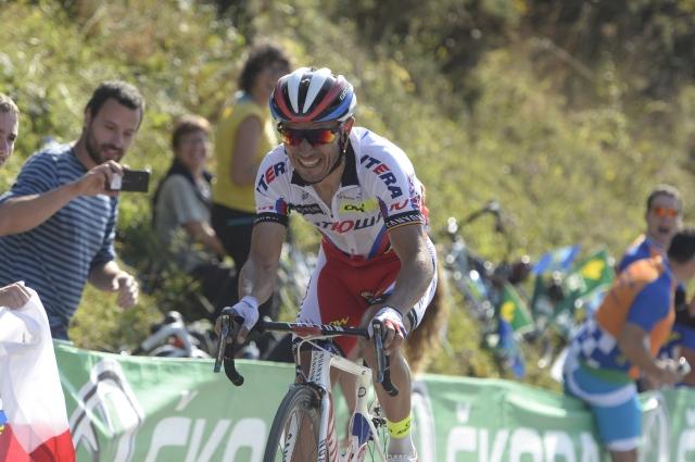 Odprta Vuelta pred kronometrom: Tom Dumoulin proti hribolazcem