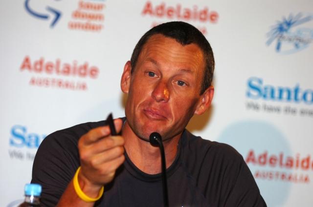 Armstrong: Priznanje brez izdanih podrobnosti