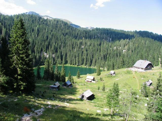 Koča na Planini pri Jezeru