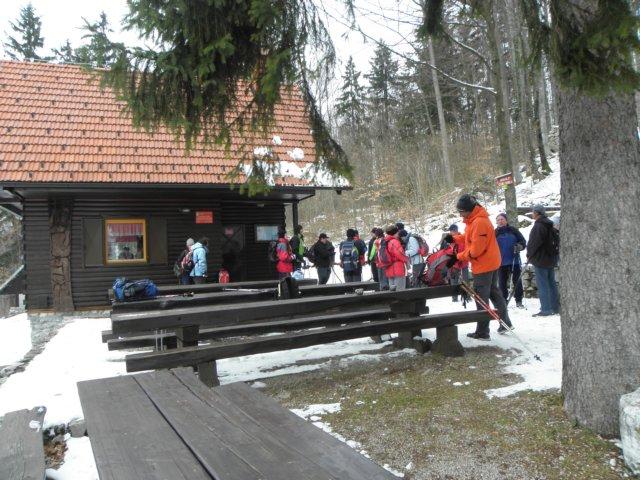 Planinska koča pri Sv. Ani na Mali gori