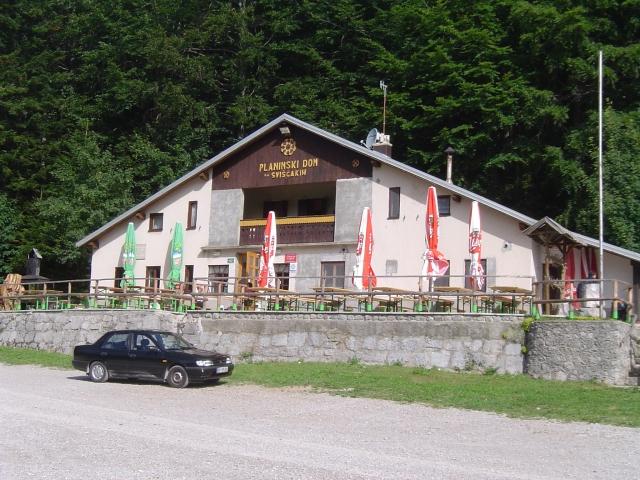 Planinski dom na Sviščakih