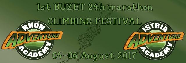 Avgusta v Buzetu 24 urni plezalni maraton!