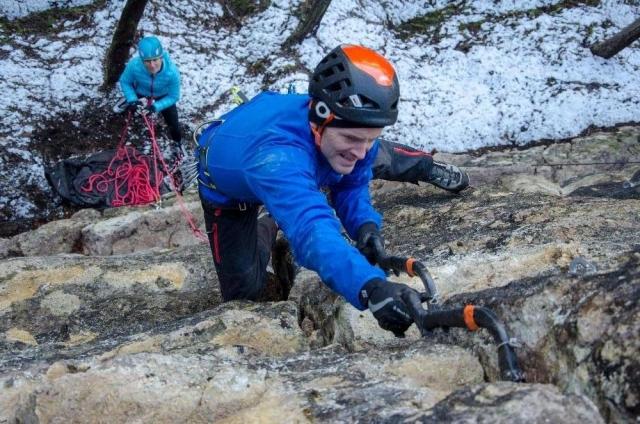 Novo drytooling plezališče na Dolu pri Hrastniku