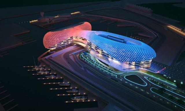 V Abu Dabiju zvezdniki že pripravljeni na novo dirko. Tudi Mezgec in Brajkovič