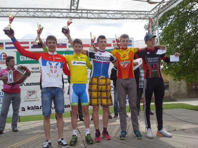Velika zmaga Čemažarja na etapni dirki v Jevičkem