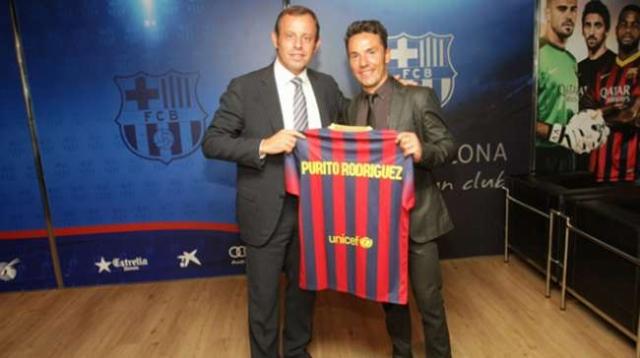 Joaquim Rodriguez v dresu Barcelone