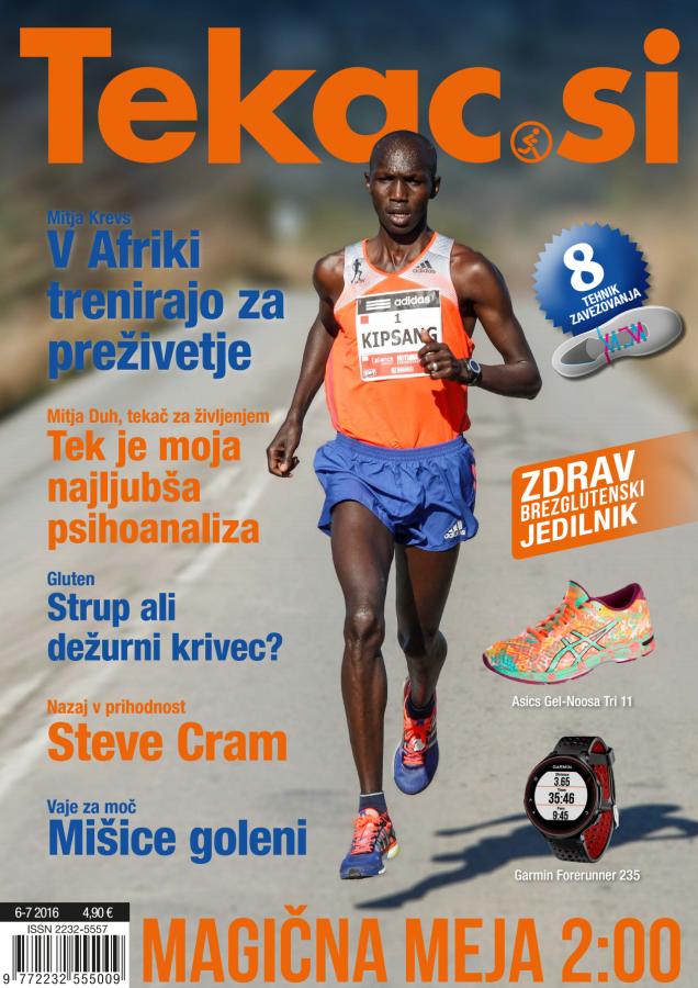 Revija Tekac.si 06-07: Magične meje so dosegljive s pametjo v nogah