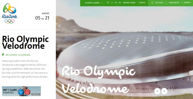 Organizatorji v Riu: Velodrom bo nared do konca junija!
