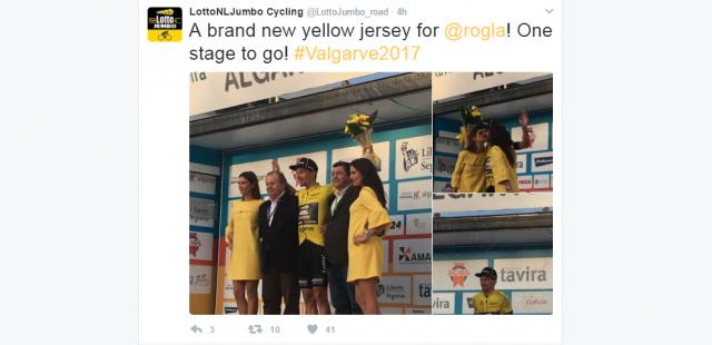 Dan pred koncem Roglič ostaja v rumenem