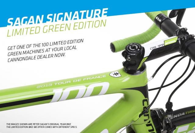 Zeleni stroj: Omejeno število koles s Saganovim podpisom! (video)