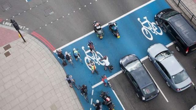 V Londonu preizkušajo sistem za zaznavanje kolesarjev