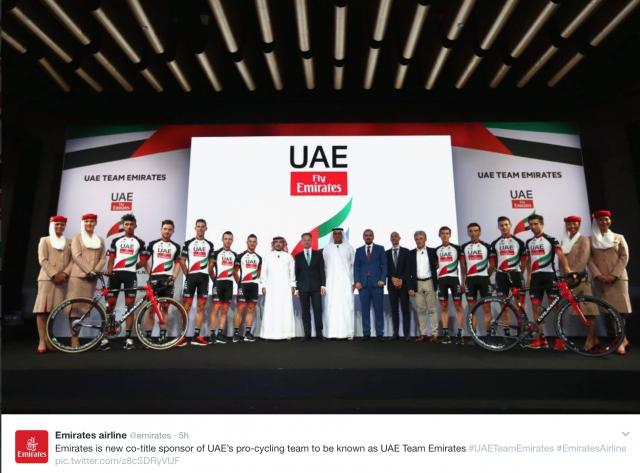 Fly Emirates: Polanc, Kump in Mohorič z novim sponzorjem