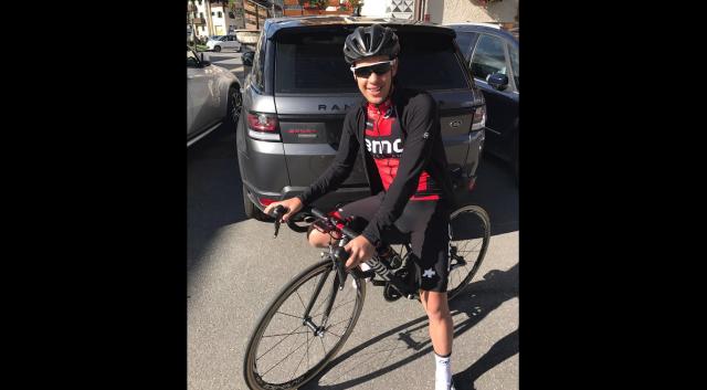 Richie Porte spet na kolesu