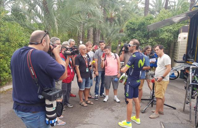Valverde: Na kolesu, preden sem lahko hodil