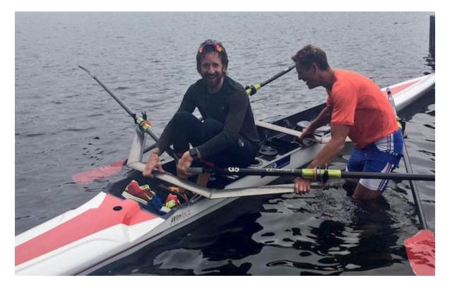 Bradley Wiggins: Po olimpijsko medaljo v veslanju?