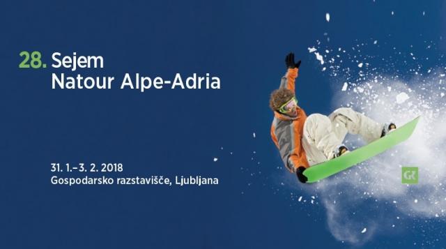 Iščete navdih za aktiven oddih? Obiščite sejem Natour Alpe-Adria 2018!