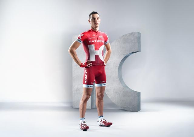 Simon Špilak v sezoni 2016 v rdečem dresu