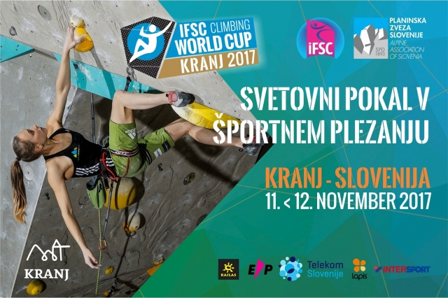 V Kranju v boj za medalje kar 20 slovenskih plezalcev