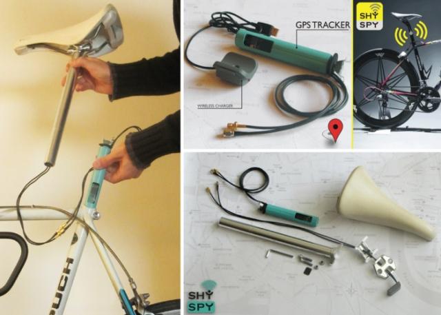 SHYSPY GPS sledilnik za kolesa se predstavlja na Kickstarterju