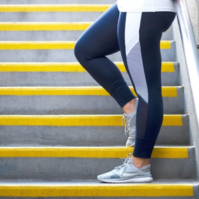 Se hitro utrudite med hojo po stopnicah? Niste sami!