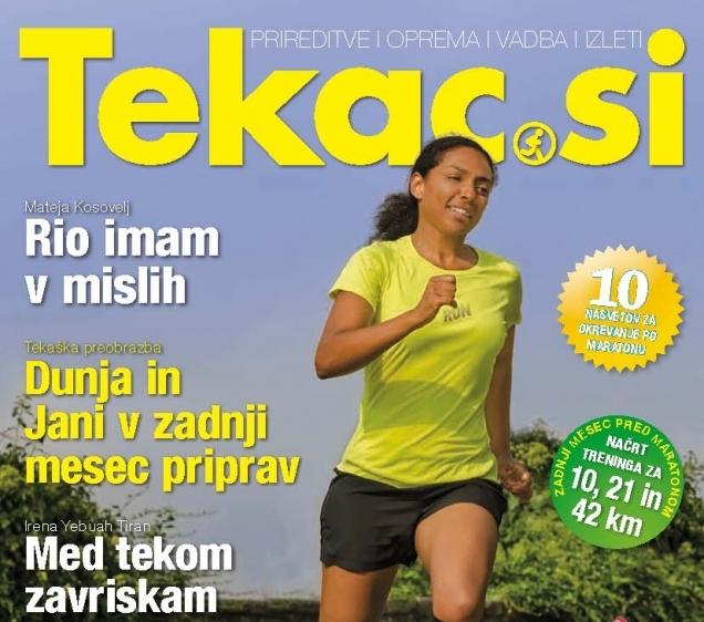 Ne cilj, rezultat naj bo motivacija - Revija TEKAC (10-11)