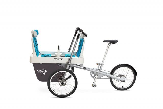 Taga je kombinacija otroškega vozička in tricikla, ki blesti na Kickstarterju