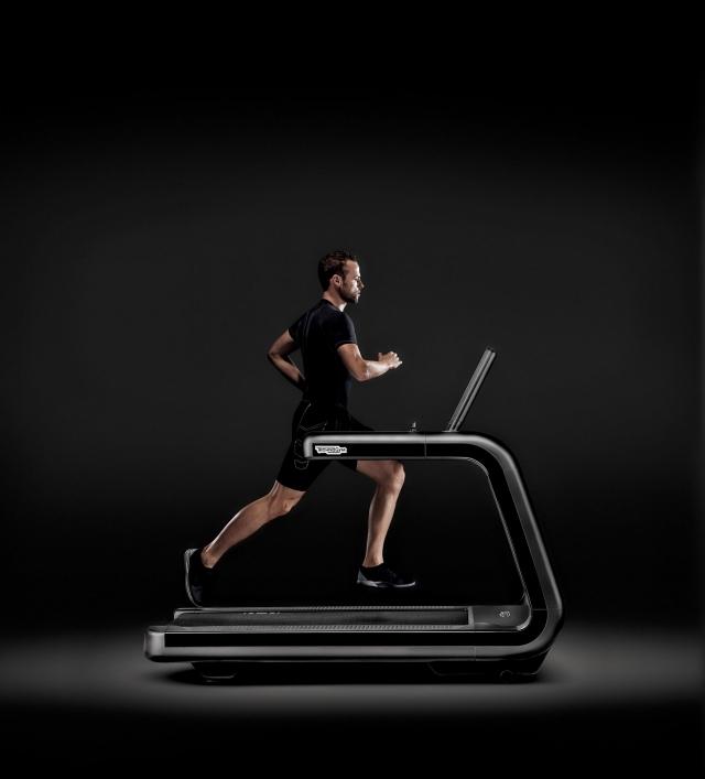 Tudi tek na tekaški stezi je lahko učinkovit