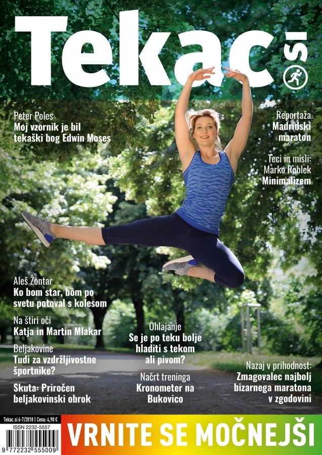 Tek naj bo užitek, ne zdravilo - revija Tekac.si 06-07