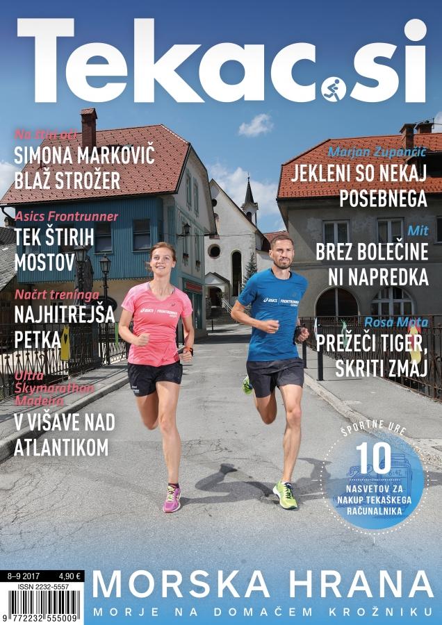 Tekaški turizem - revija Tekac.si 08-09