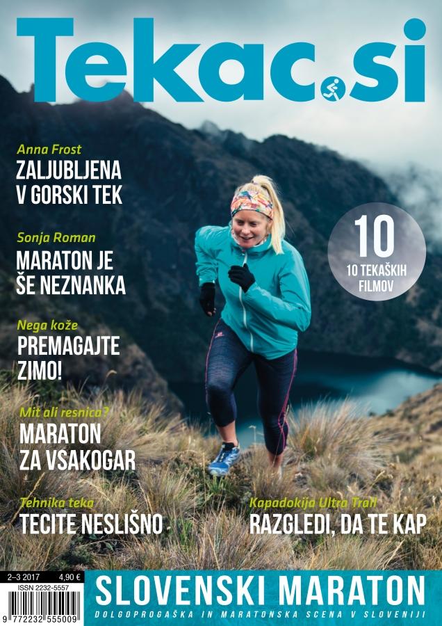 Vsak lahko preteče maraton, a redki pritečejo na olimpijske igre - revija Tekac.si 02-03