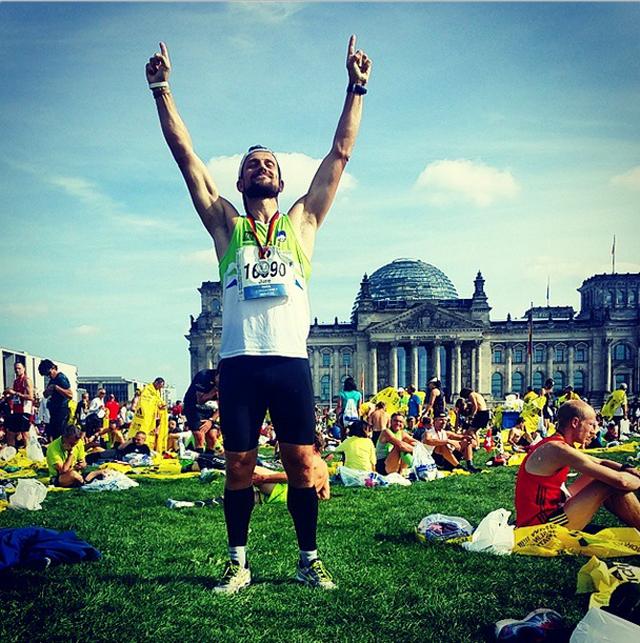 Na berlinskem maratonu tudi Slovenci!