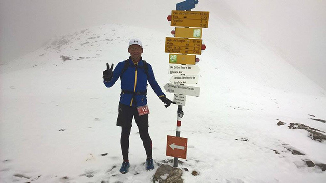 Toni Lekše je prvi Slovenec, ki je pretekel Swiss Ultra Trail