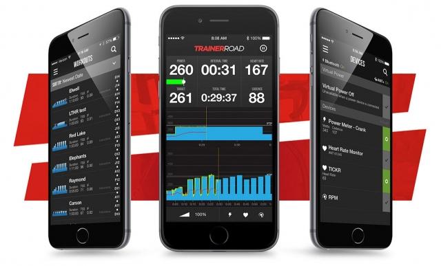 TrainerRoad aplikacija: Virtualni trener v vašem žepu