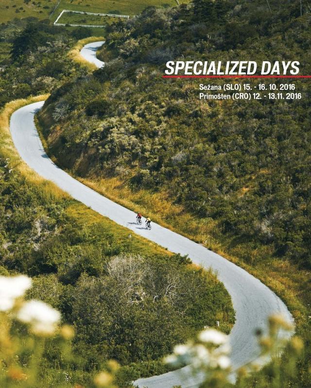Dnevi preizkušanja Specialized koles