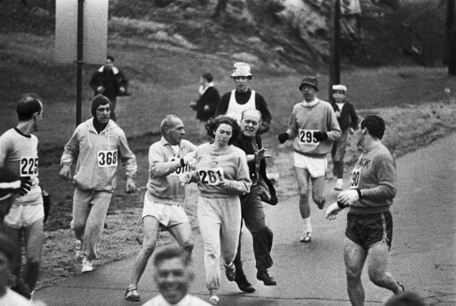 Prva ženska, ki je pretekla bostonski maraton