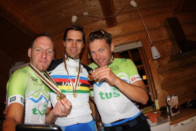 Svetovno amatersko prvenstvo minilo v znamenju slovenskih kolesarjev