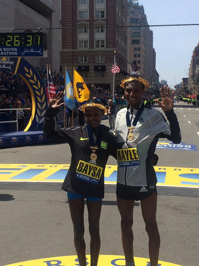 Na Bostonskem maratonu slavila Etiopijca