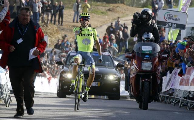 Ob napadalnem Contadorju spet blestel tudi Primož Roglič
