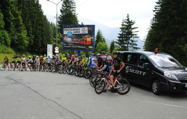 V družbi naših najboljših kolesarjev po trasi Maratona Alpe Scott, pred nedeljski maratonom