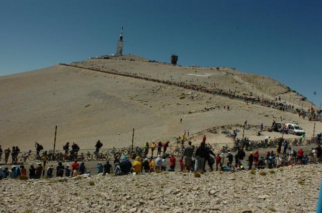 V pričakovanju Mont Ventouxa: