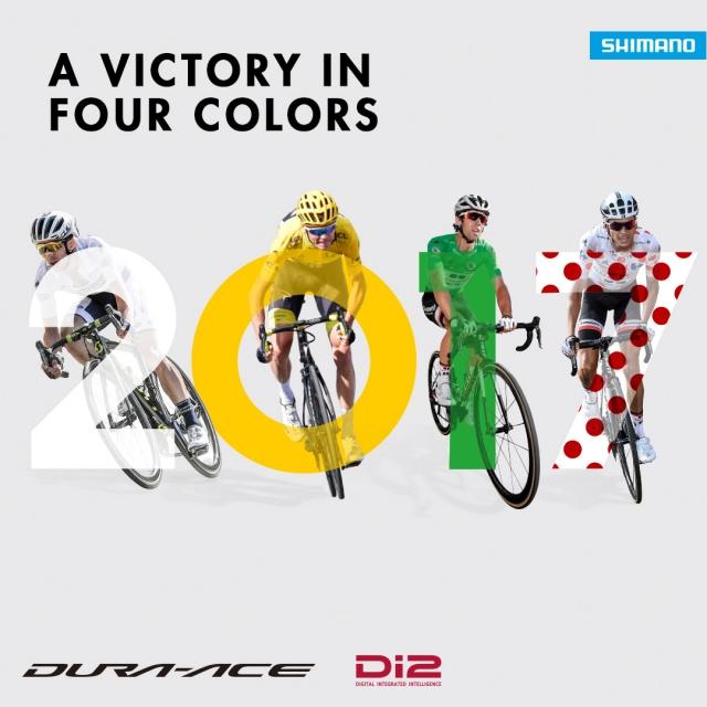 Shimanovi kolesarji dobili vse majice in vse etape