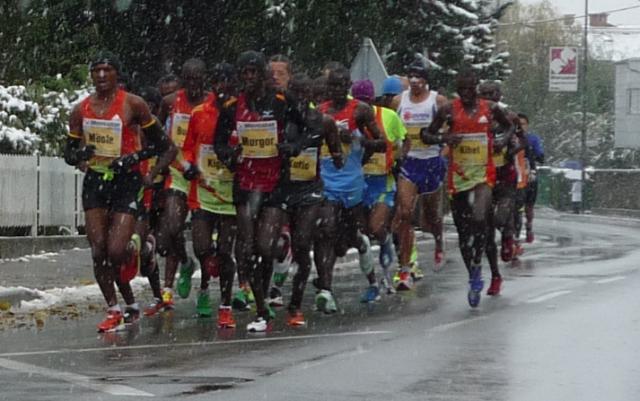 17. Ljubljanski maraton Etiopijcema. Udeležba in vzdušje kljub vremenu fantastična!